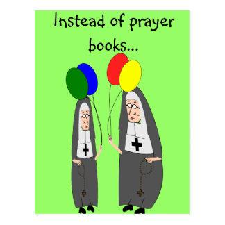 Nunnafödelsedaggåvor Vykort