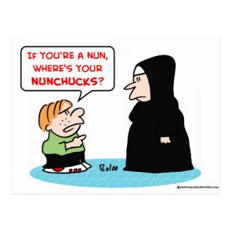nunnanunchucks vykort