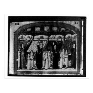 Nunnor som ansar det sjukt på hotellet Dieu Vykort