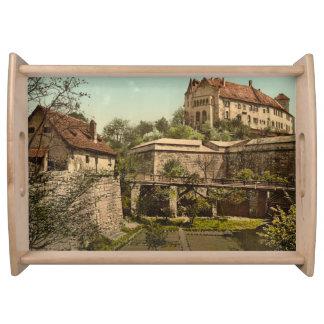 Nuremberg slott, Bayern, Tyskland Frukostbricka