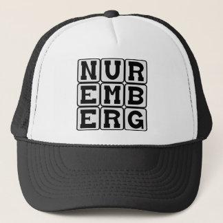 Nuremberg stad i Tyskland Keps