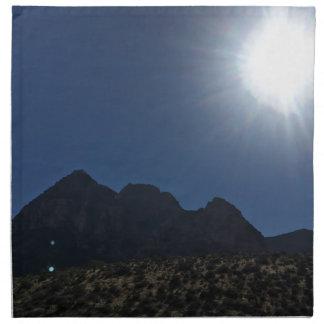 Nv-bergskedja Tygservett