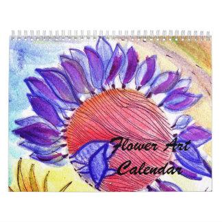 Ny blommakonstkalender kalender