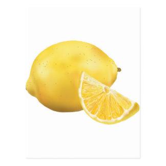 Ny citron vykort