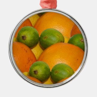 ny frukt julgransprydnad metall