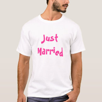 Ny gifta tröjor