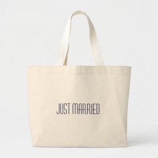 Ny giftastranden hänger lös - bröllopsresaredo! jumbo tygkasse