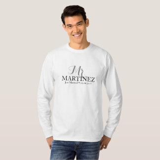 Ny giftaT-tröja för par Tee