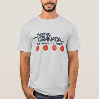 Ny Granada morgondagstad i dag T Shirts