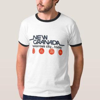 Ny Granada morgondagstad i dag Tshirts