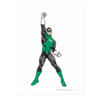 Ny grön lykta 2 2 vykort