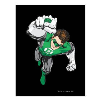 Ny grön lykta 6 vykort