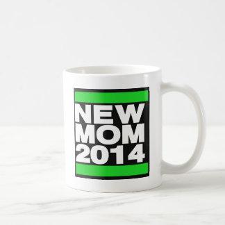 Ny grönt för mamma 2014 kaffemugg