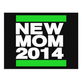 Ny grönt för mamma 2014 vykort