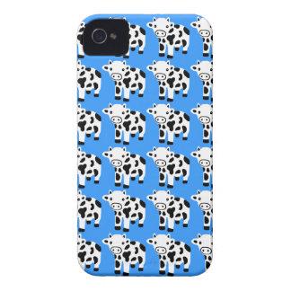 Ny gullig gåva för blåttkoblackberry fodral Case-Mate iPhone 4 skydd