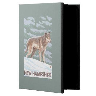 Ny HampshireWolf plats Fodral För iPad Air