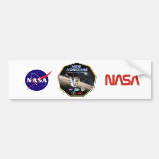 Ny horisontbeskickning till Pluto! Bildekal