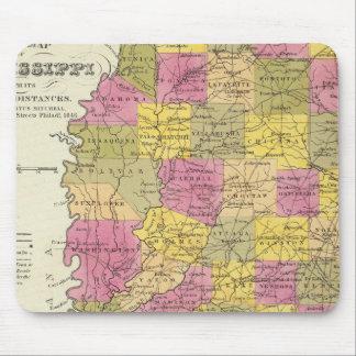 Ny karta av Mississippi Musmatta