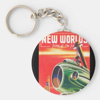 Ny konst för världar 1950_Pulp Rund Nyckelring