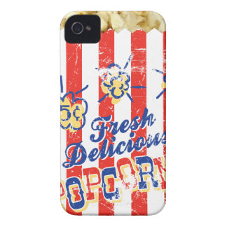 Ny läcker Popcorniphone case Case-Mate iPhone 4 Fodraler