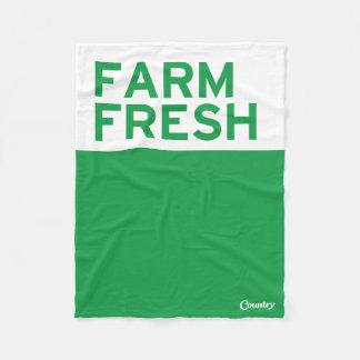 Ny lantgård fleecefilt