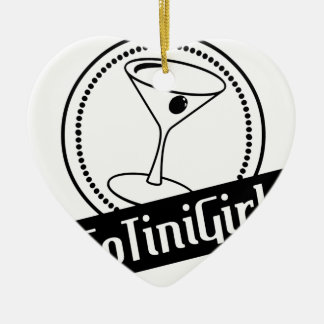 Ny logotyp julgransprydnad keramik