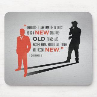 Ny man Mousepad - för 5:17bibel för 2 Corinthians Musmatta