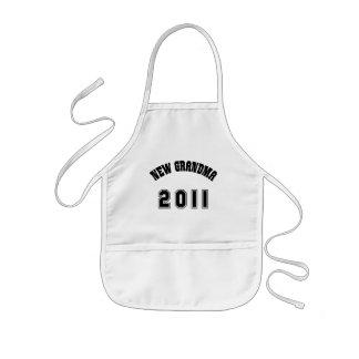 Ny mormorgåva 2011 barnförkläde