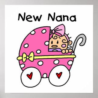 Ny Nana baby i vagnsgåvor Print