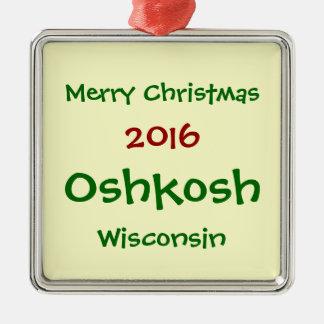 NY OSHKOSH WISCONSIN JULPRYDNAD 2016 JULGRANSPRYDNAD METALL