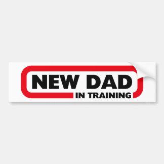 Ny pappa i utbildning - rolig bildekal