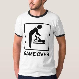 Ny pappa som är modig över skjortan för t shirt