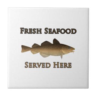 Ny skaldjur som här tjänas som kakelplatta