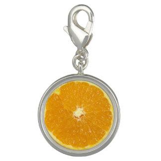 Ny skiva för orange frukt - berlock