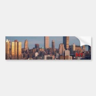 ny_skyline NY Bildekal