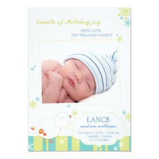 Ny tillkännagivande för födelse för foto för