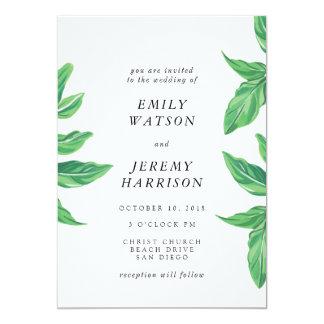 Ny tropisk inbjudan för östrandbröllop
