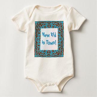 Ny unge i Town! bebist-skjorta Body För Baby