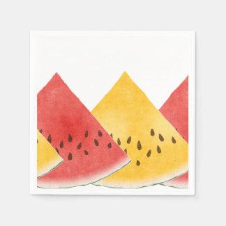 Ny vattenmelonPappersservett Servetter