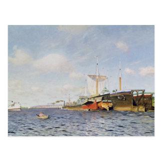 Ny vind på Volgaen, 1895 Vykort