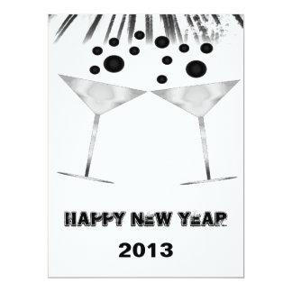 Nya år inbjudan