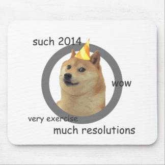 Nya år upplösningsDoge Mus Matta