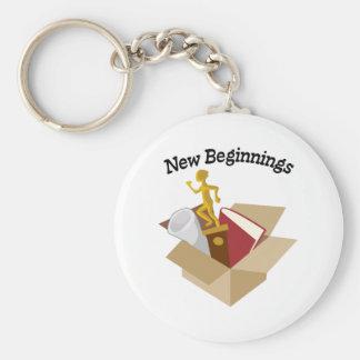 Nya början nyckel ringar