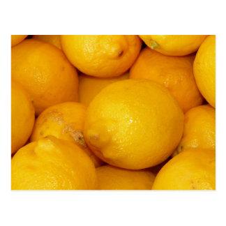 Nya citroner vykort
