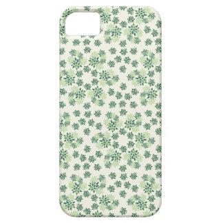Nya gröntblommor iPhone 5 Case-Mate skydd