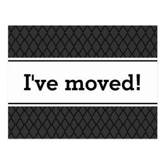Nya hem- rörs vykort | som jag har flyttat!