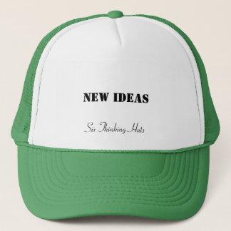 Nya idéer, sex tänkande hattar keps