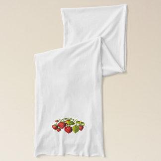 Nya jordgubbar sjal