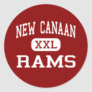 Nya Kanaan - rammar - kick - nya Kanaan Runt Klistermärke