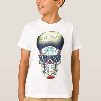 nya ungar skolar sockerskallet-skjortan tee shirt